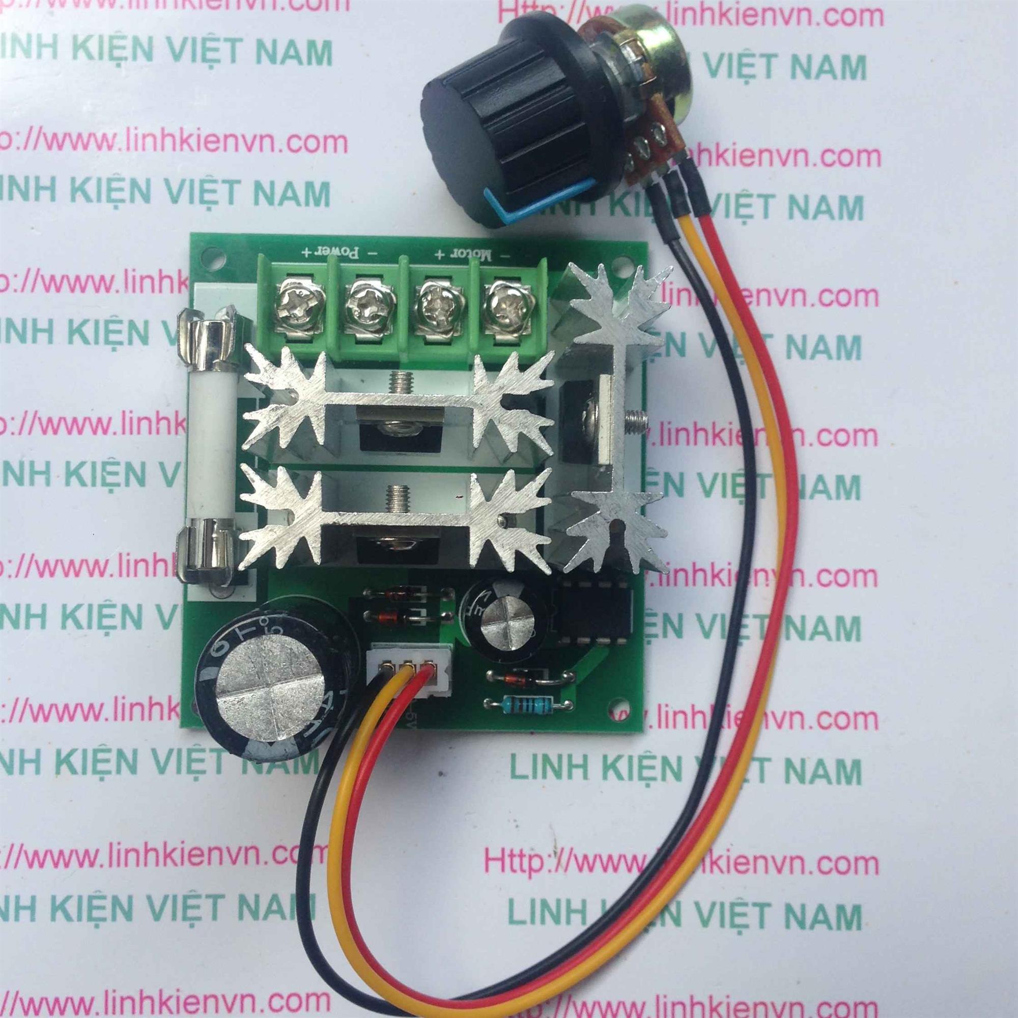 Module điều khiển tốc độ động cơ PWM 6-90V 15A / bộ điều khiển tốc độ động cơ DC - G1H9