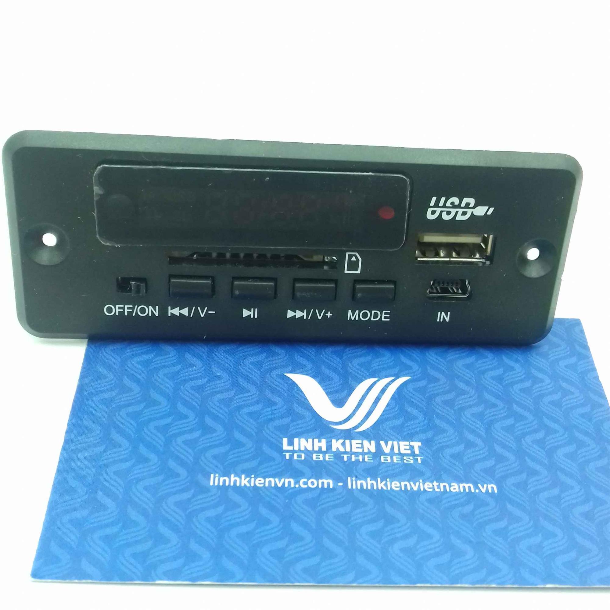 Module đọc thẻ SD/SSD USB / Module phát nhạc MP3 / Module MP3 USB MicroSD - G3H16