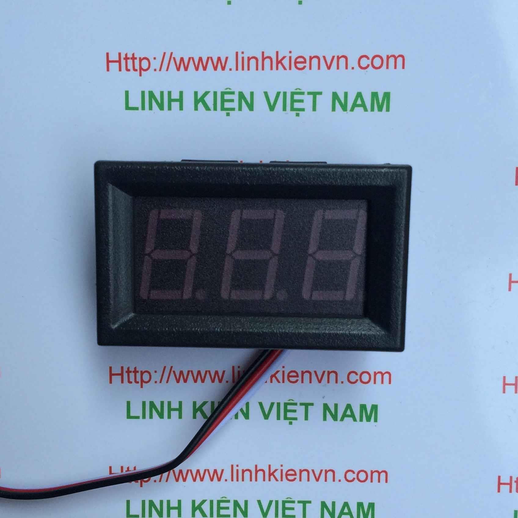 Vôn kế Đo Hiển Thị Điện Áp 0-30V DSN-DVM-568HV / Module Đo Hiển Thị Điện Áp bằng 3 dây - B1H4