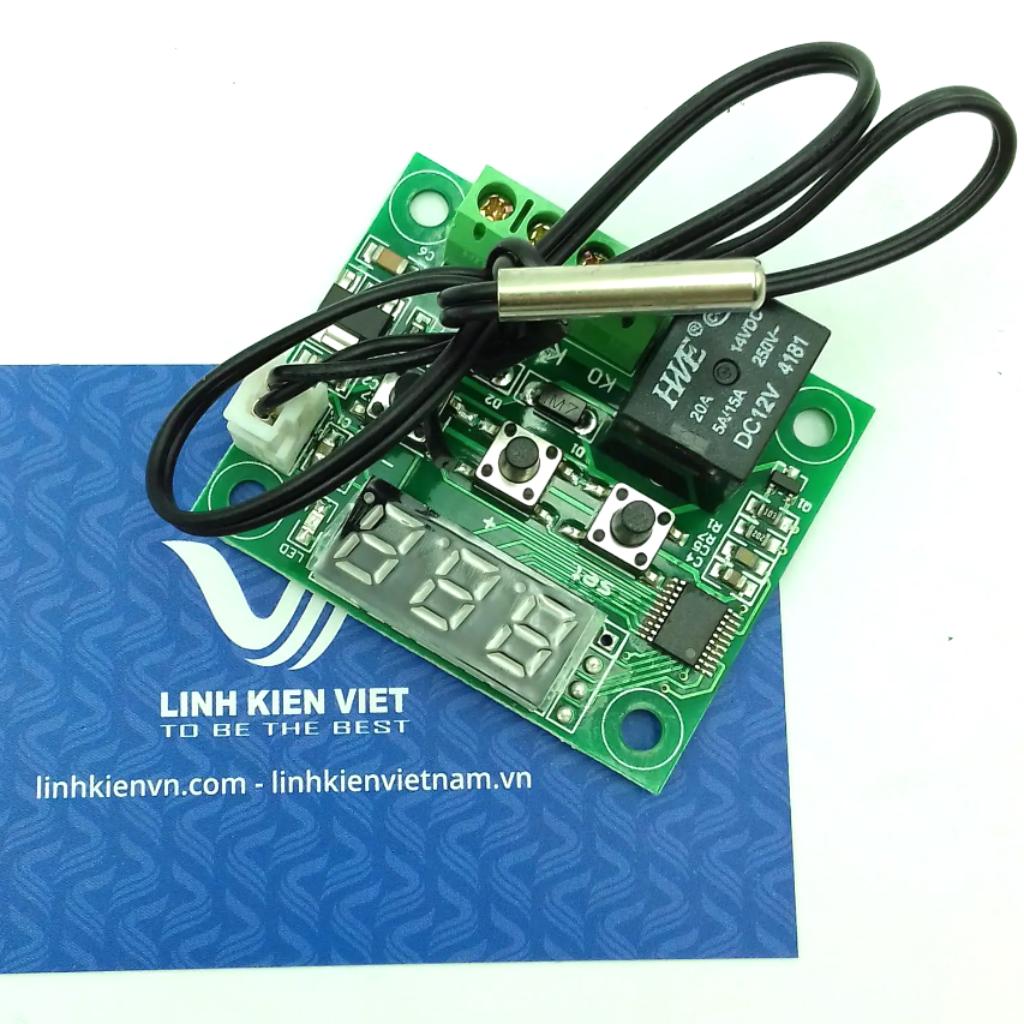 Module Khống Chế Nhiệt Độ NTC 1 relay W1209 - i1H14