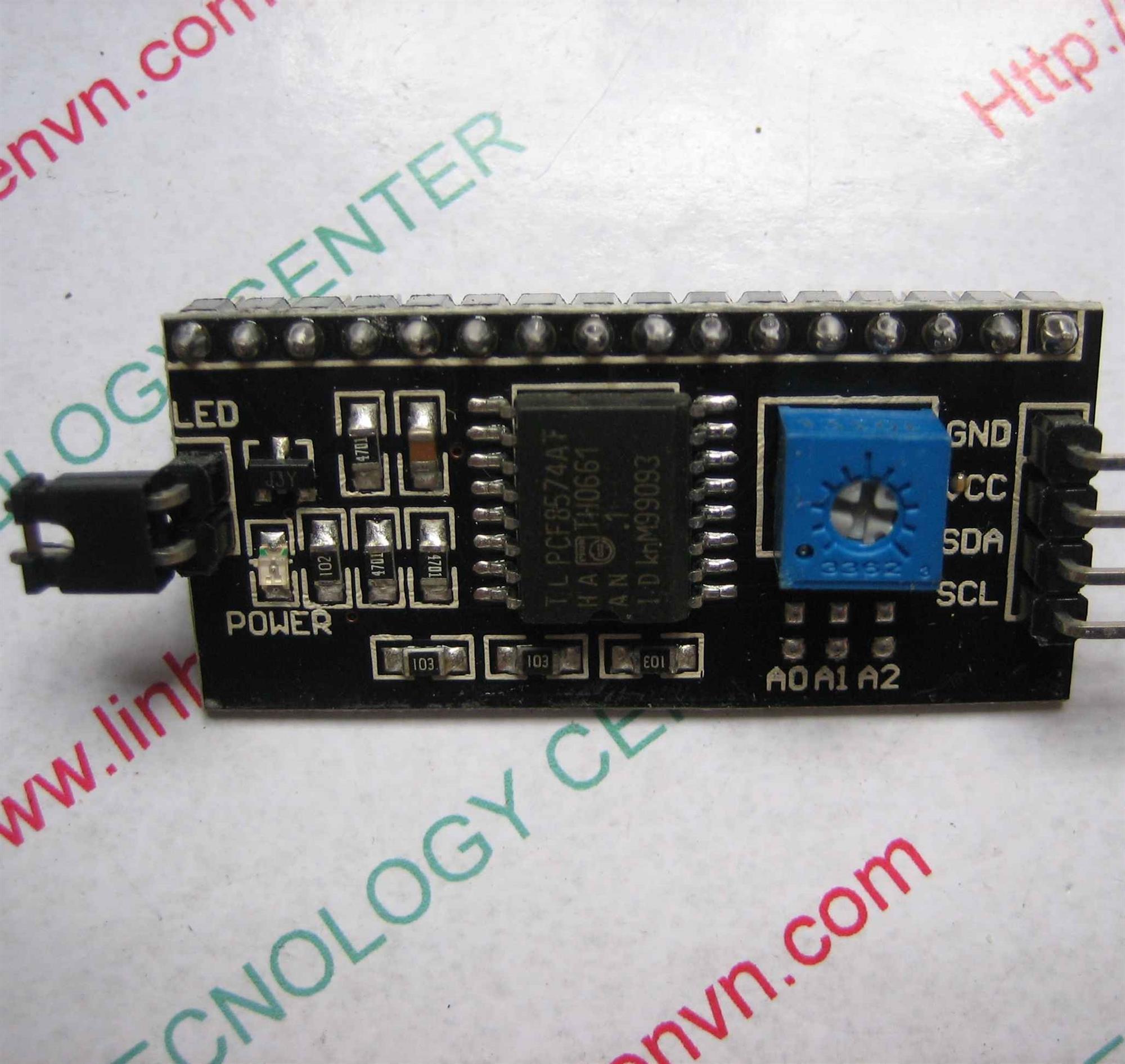 MODULE LCD1602 - I2C - B2H20