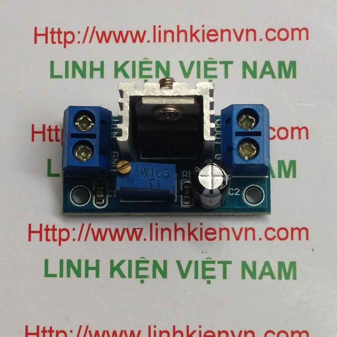 Module nguồn điều chỉnh 1.2-37V DC-DC LM317 - B3H16
