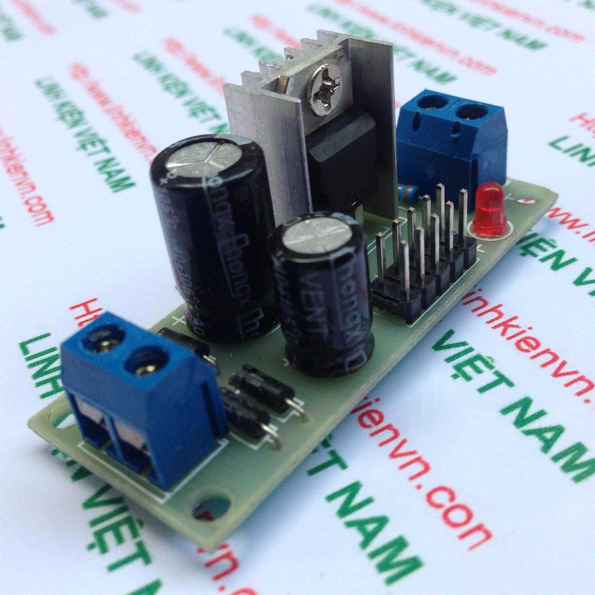 Module nguồn ổn áp 5V / Module nguồn 7805 / Module nguồn DC - S4H5