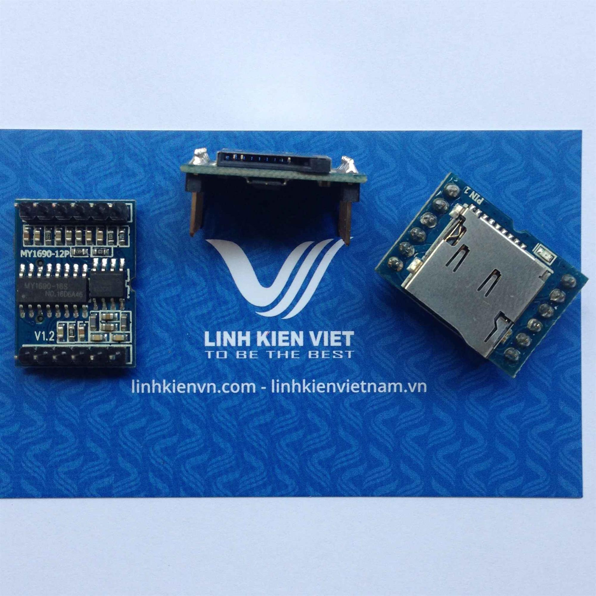 module nhạc MY1690-12P SD/ Module âm thanh MY1690-12P SD/ module USB FLASH SD - i1H6