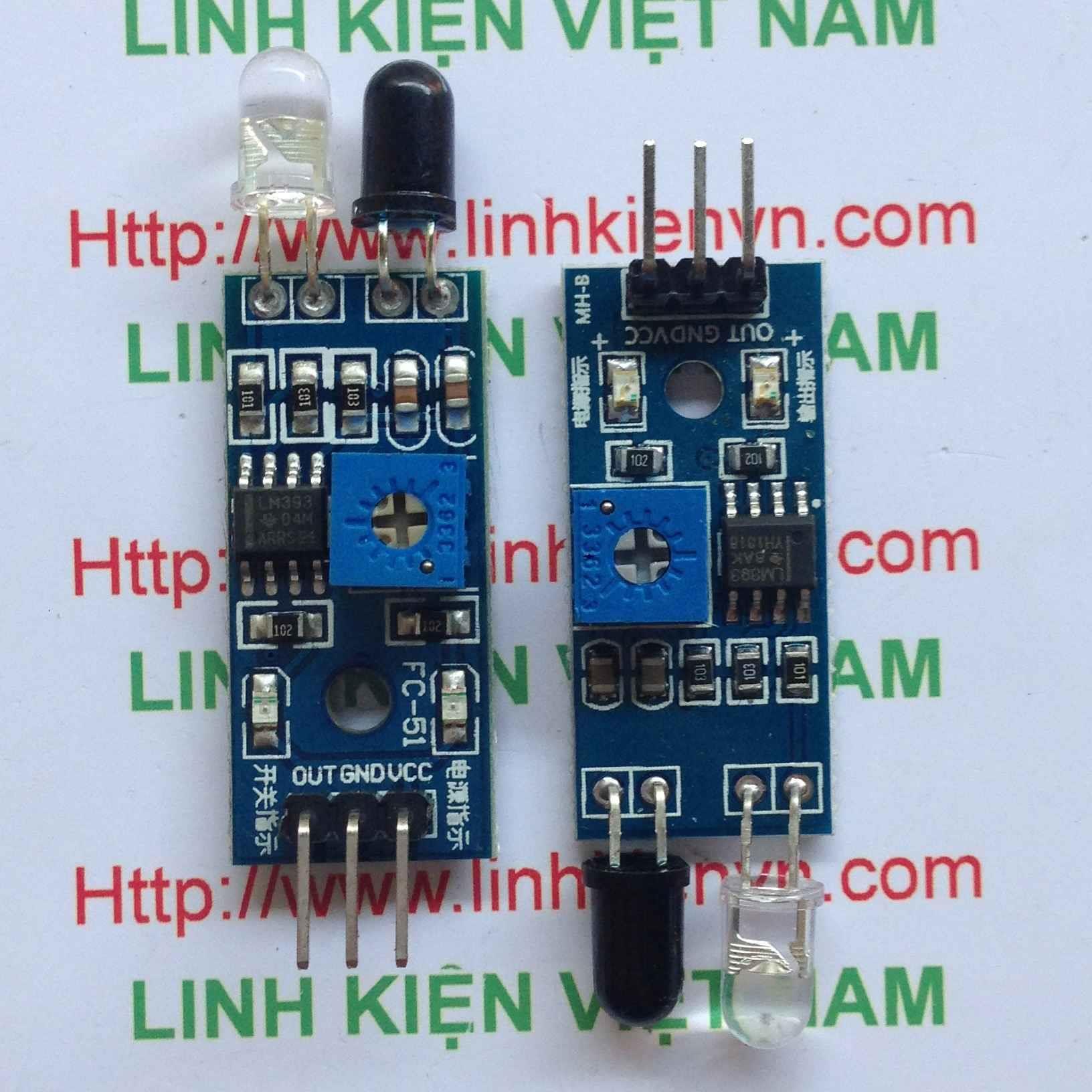 Module thu phát hồng ngoại 1 cặp thu phát - i1H21