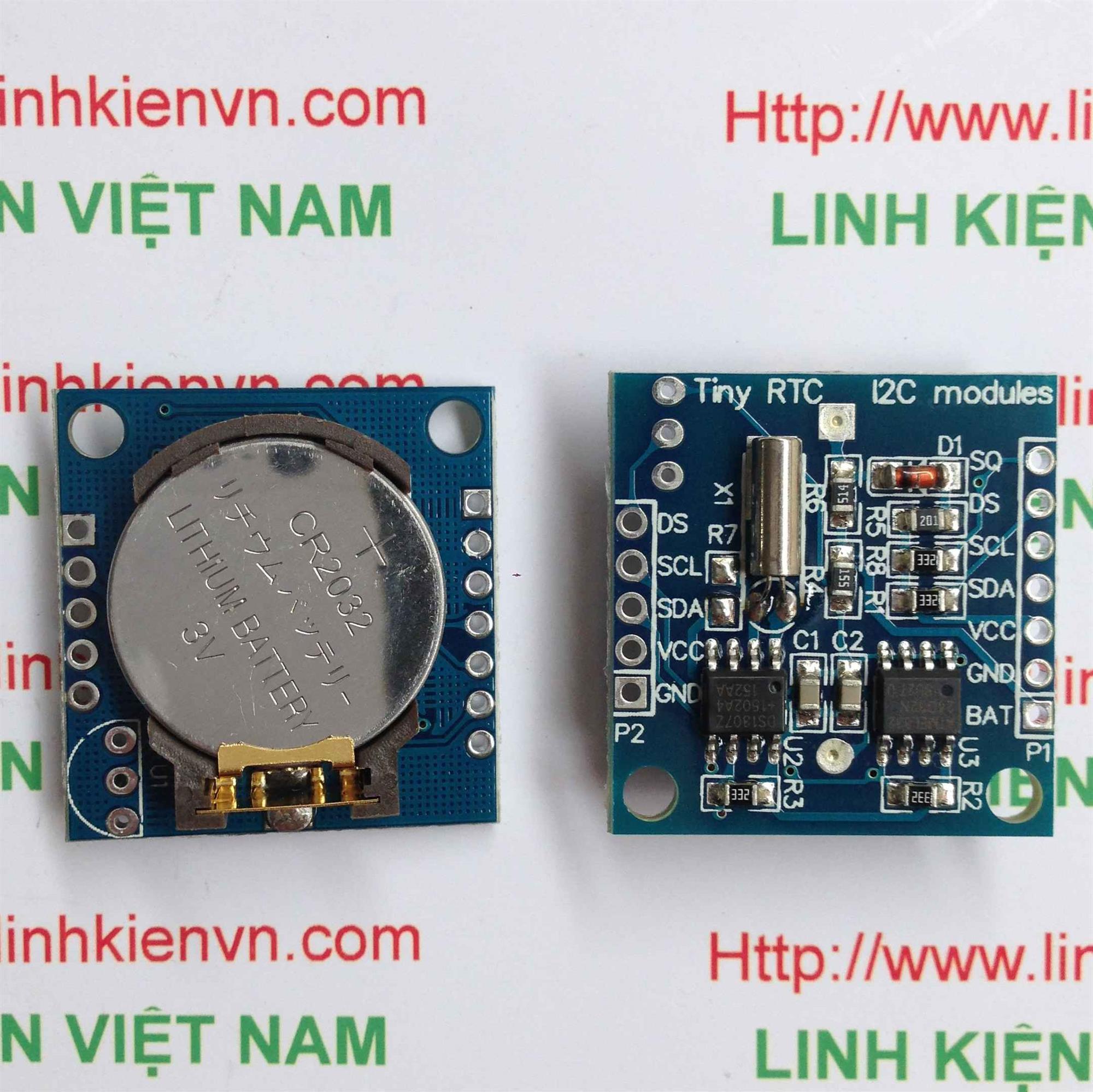 Module định thời gian I2C DS1307 RTC - B1H1
