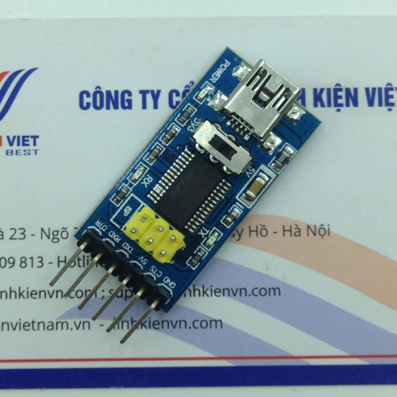 Module USB TTL FT232 / FTDI & ISP Breakout - 3.3 / 5V s2H1