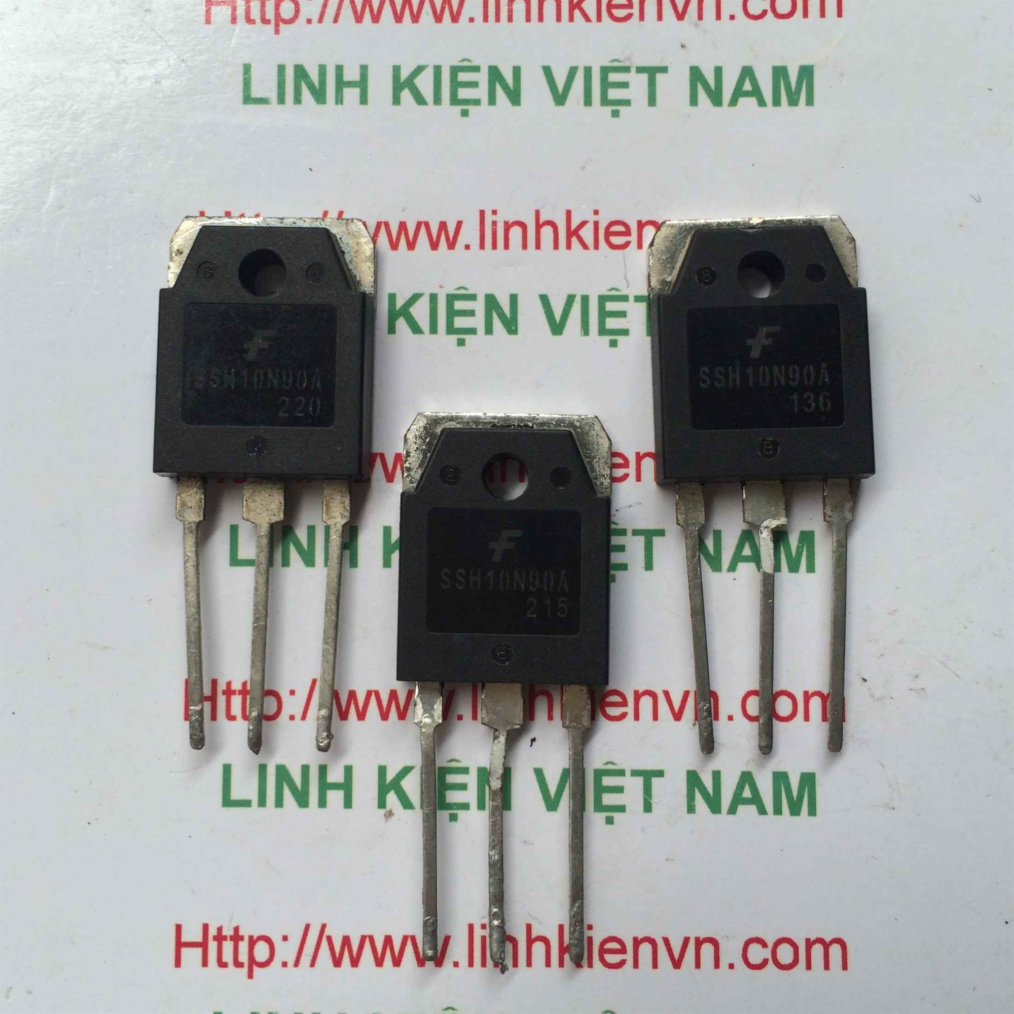 Mosfet kênh N 10N90 900V 10A - Hàng Cũ - G4H2