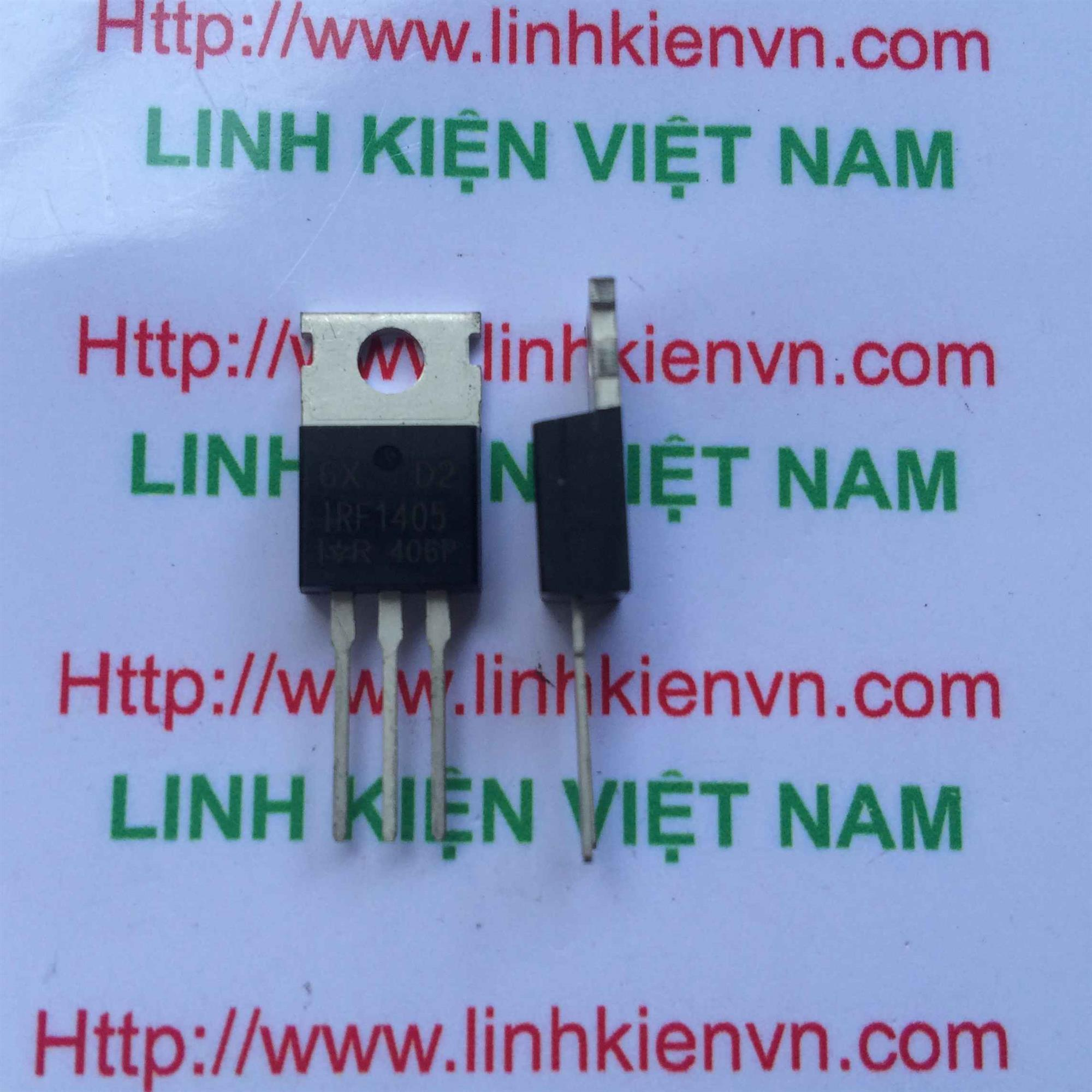 MOSFET IRF1405 / IRF 1405-406P - G5H16
