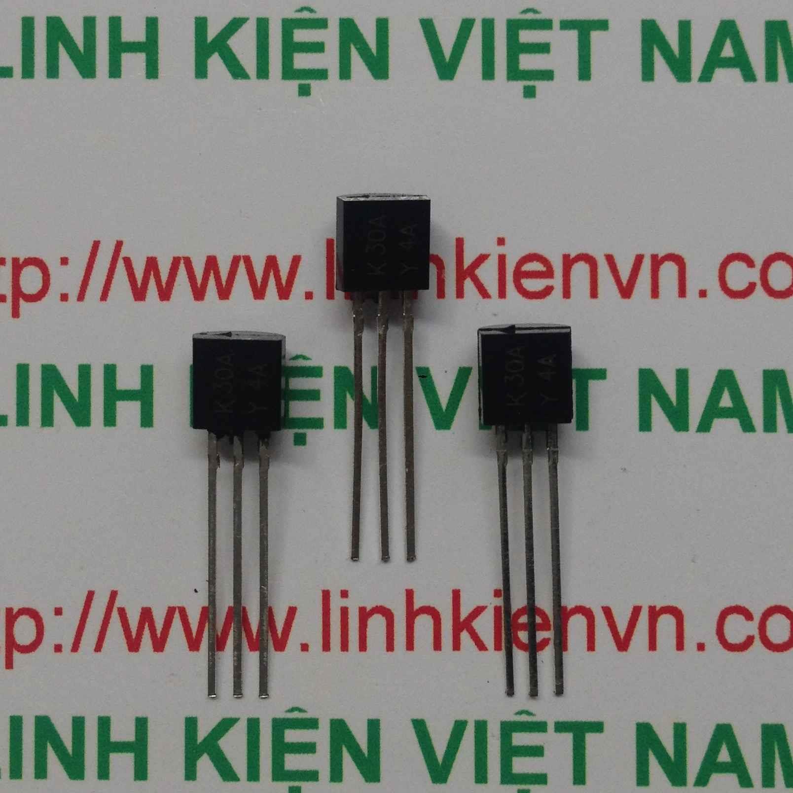 MOSFET kênh N 2SK30A K30A - TO92 - B7H16