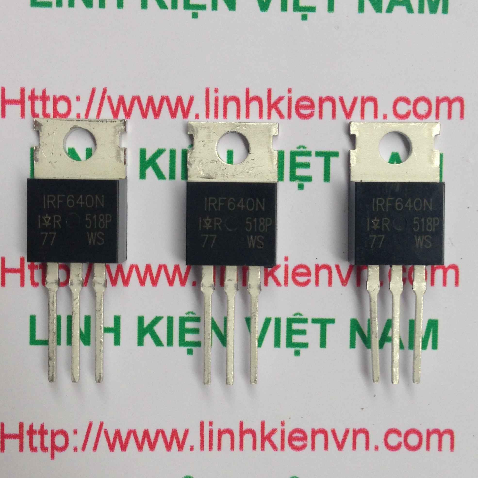 MOSFET Kênh N IRF640 chính hãng TO220 - B7H11