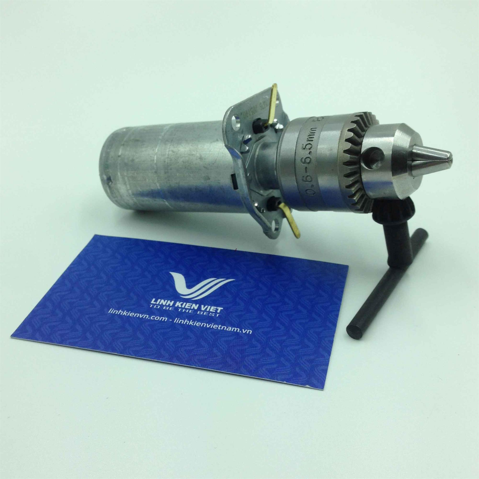 Motor khoan mạch 12V / Khoan tay DC 12V / Khoan mạch DC 12V (không khuyến mãi) - G5H20