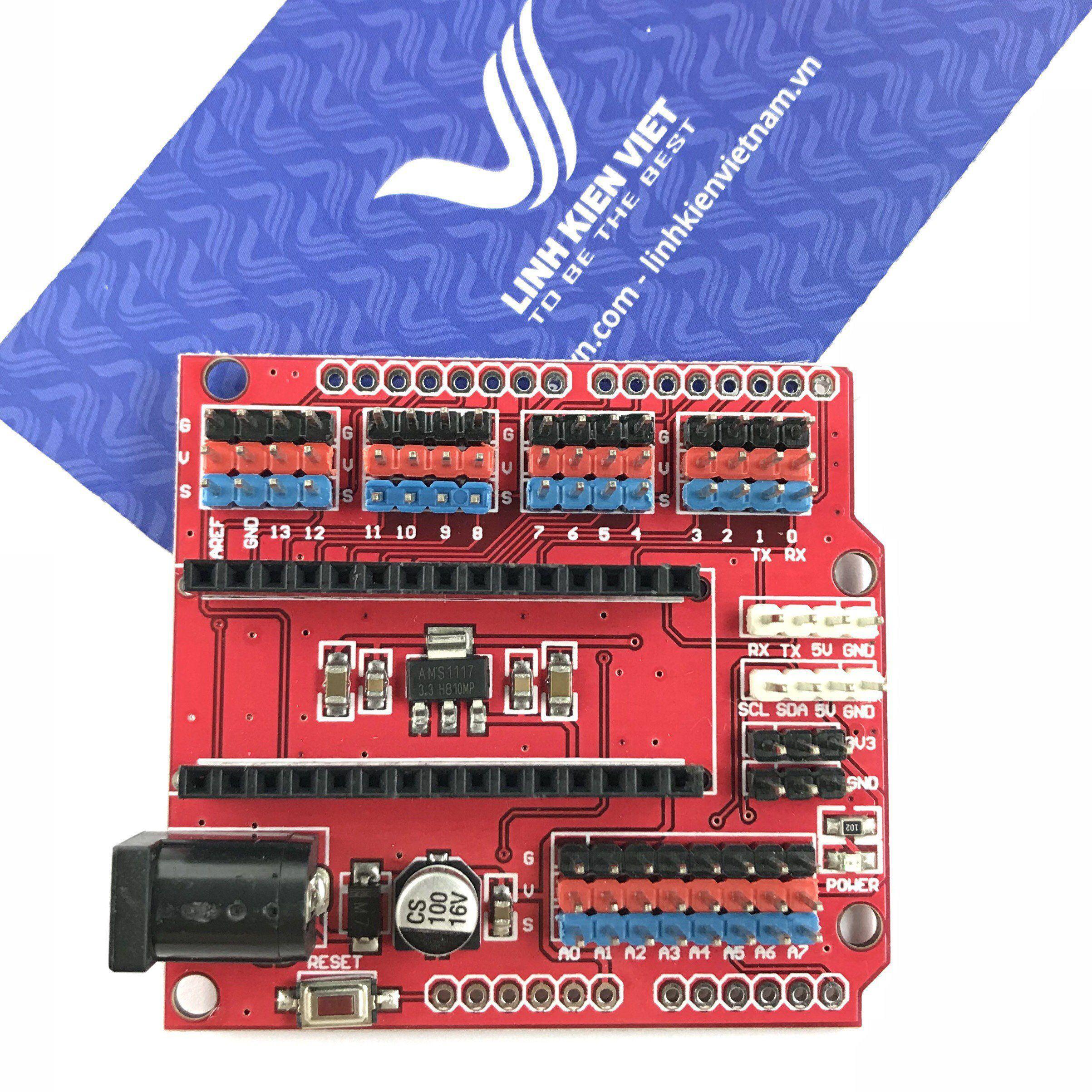 Board Mở Rộng Arduino Nano Sang UNO - X2H5