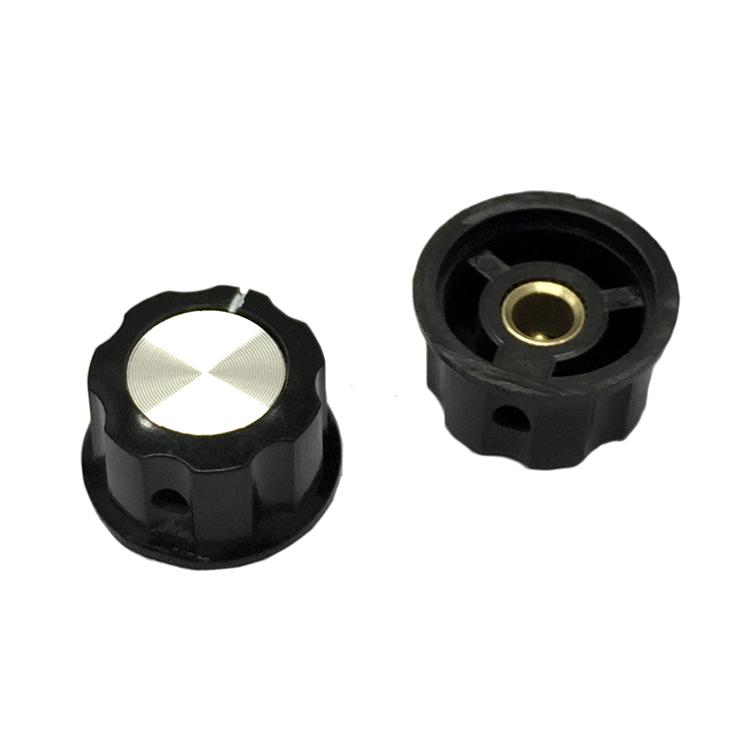 Đầu chụp công tắc MF-A04 / Núm Công tắc WH118 6mm / Đầu chụp chiết áp công tắc / Đầu chụp công tắc chọn - J2H12