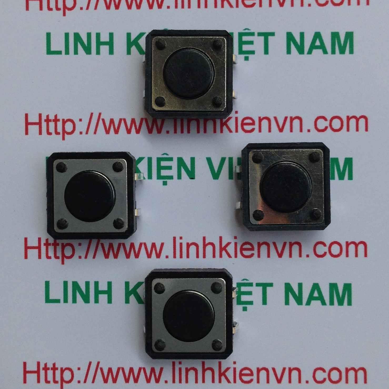 NÚT BẤM 4 CHÂN 12x12x4.3 mm - C5H5
