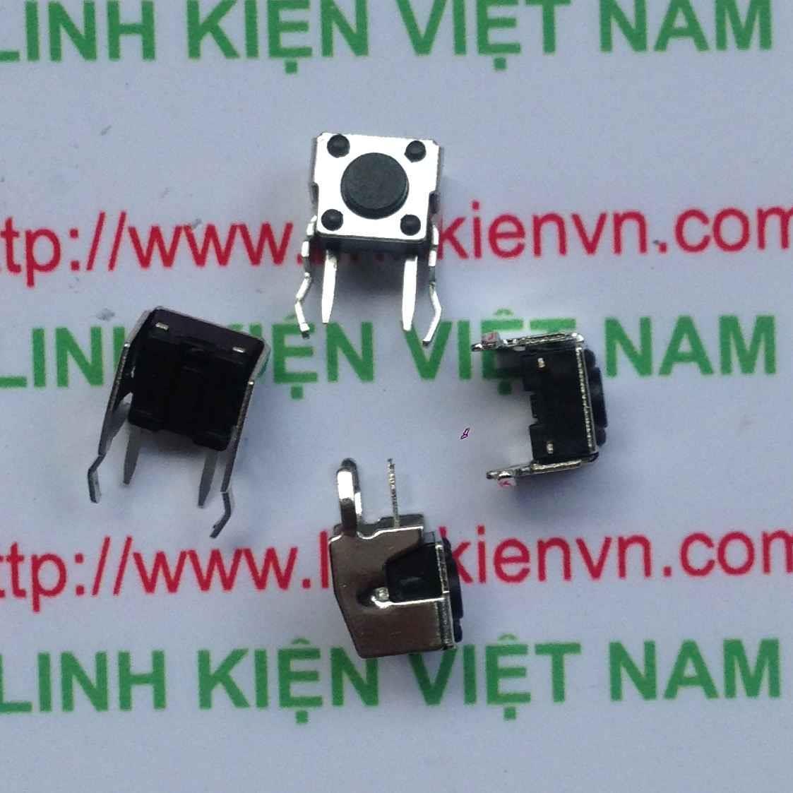 Nút nhấn 2 chân đứng 6x6x5mm KFC-A06-5M - D3H5