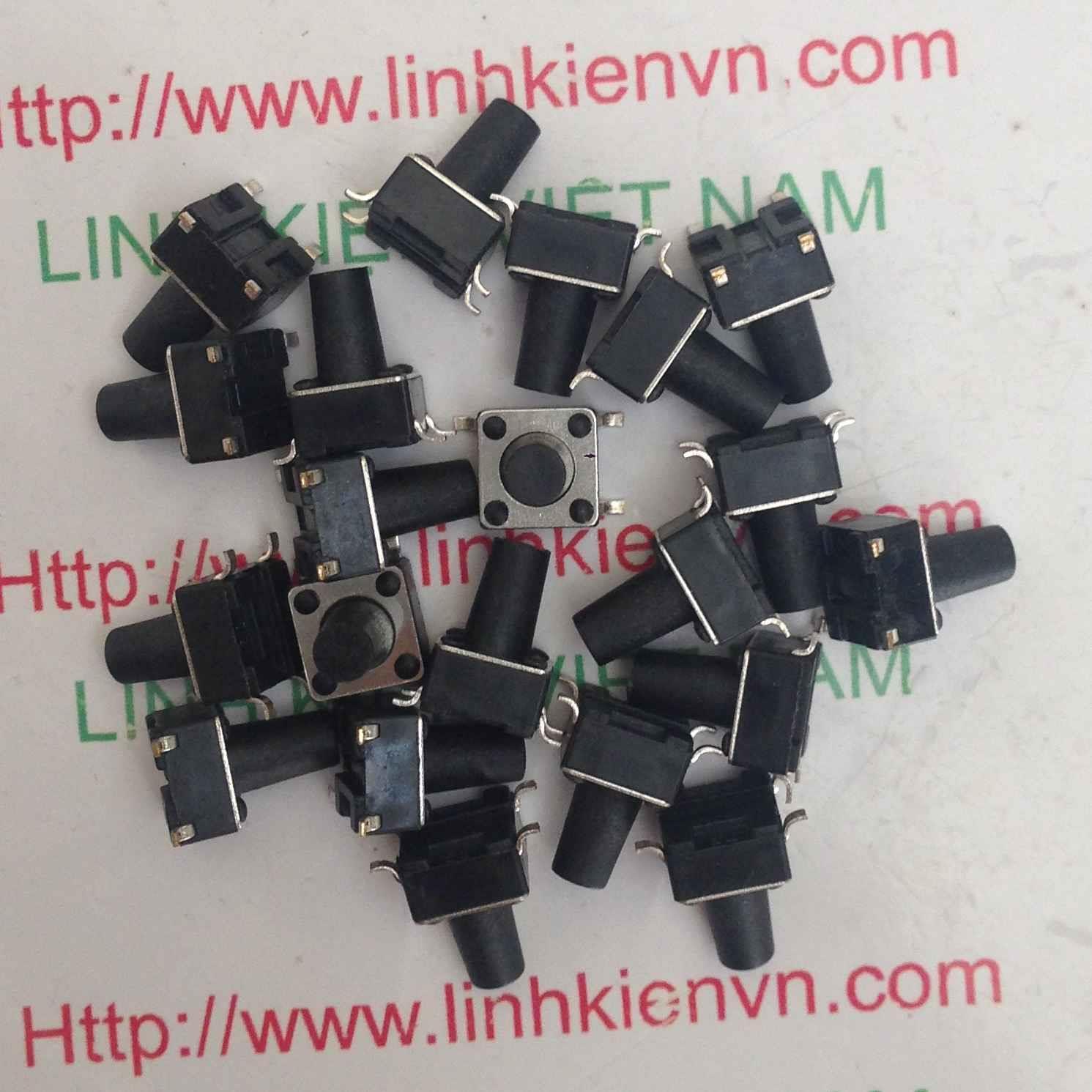 Nút nhấn 4 chân SMD 6x6x9H / Nút bấm 4 chân SMD 6x6x9H - D4H9