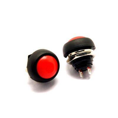 NÚT NHẤN CHỐNG NƯỚC PBS33B 12mm màu đỏ - D3H1