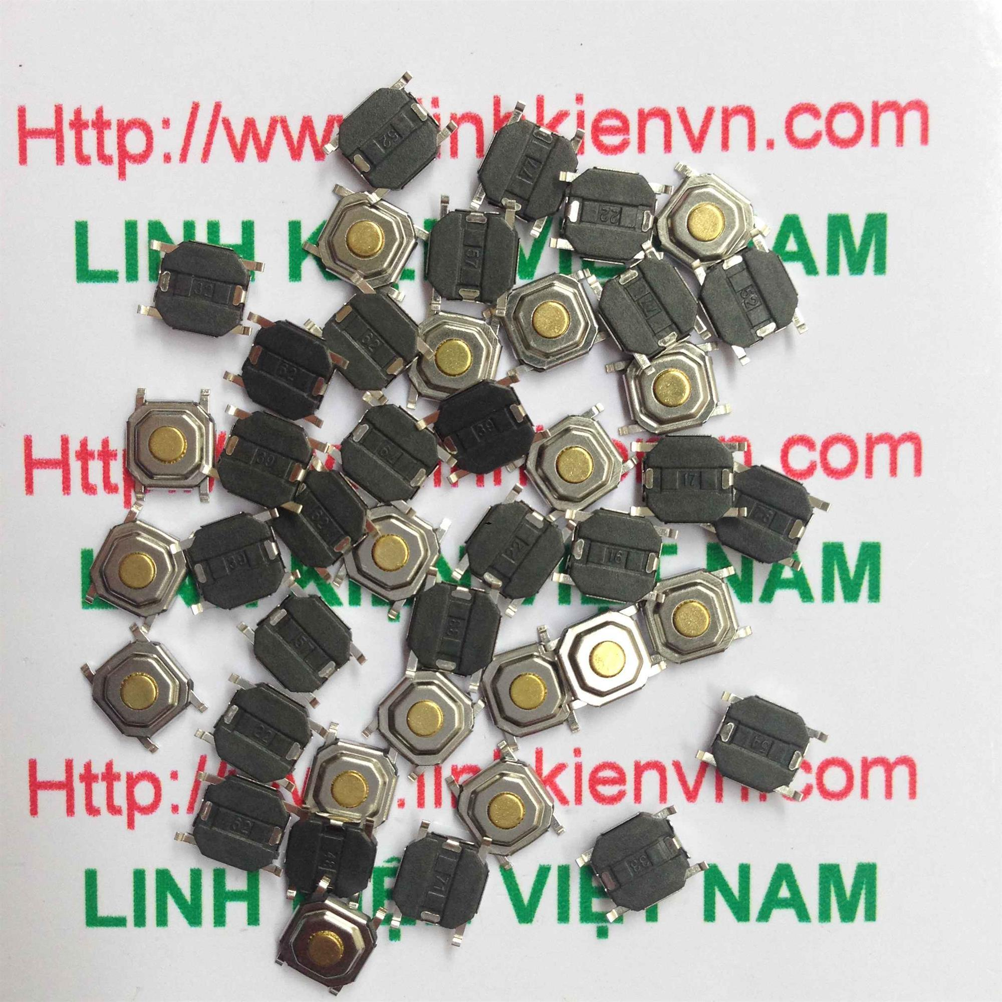 Nút Nhấn SMD 4 chân 4x4x1.5mm - D4H8