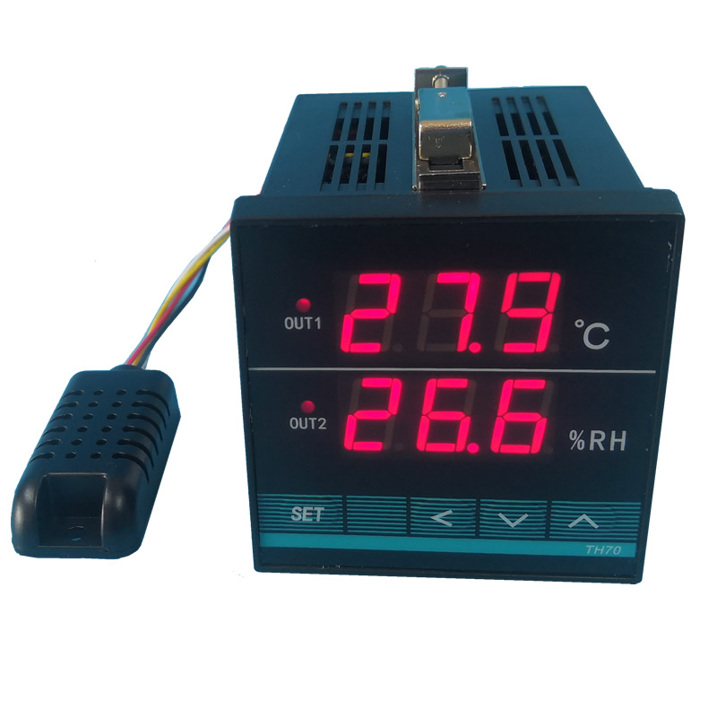 Bộ điều khiển thiết bị bằng nhiệt độ, độ ẩm.