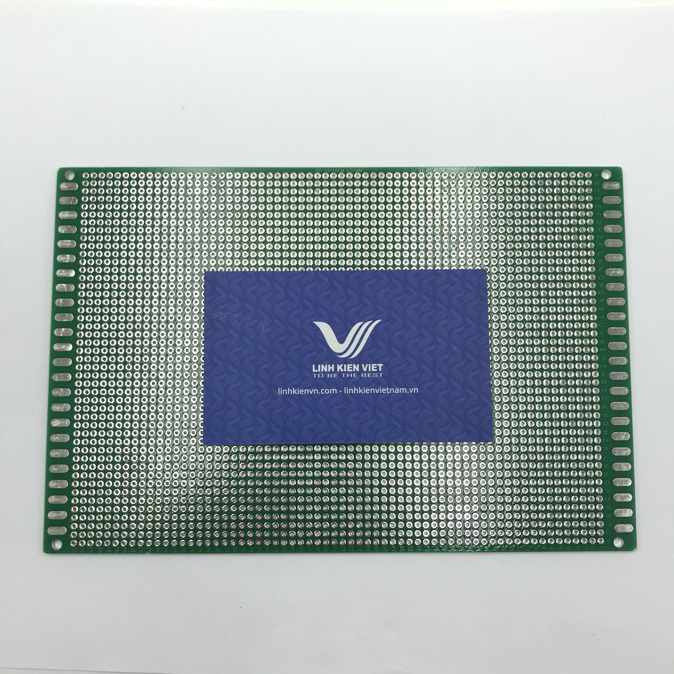 PCB lỗ 2 mặt 12x18cm -