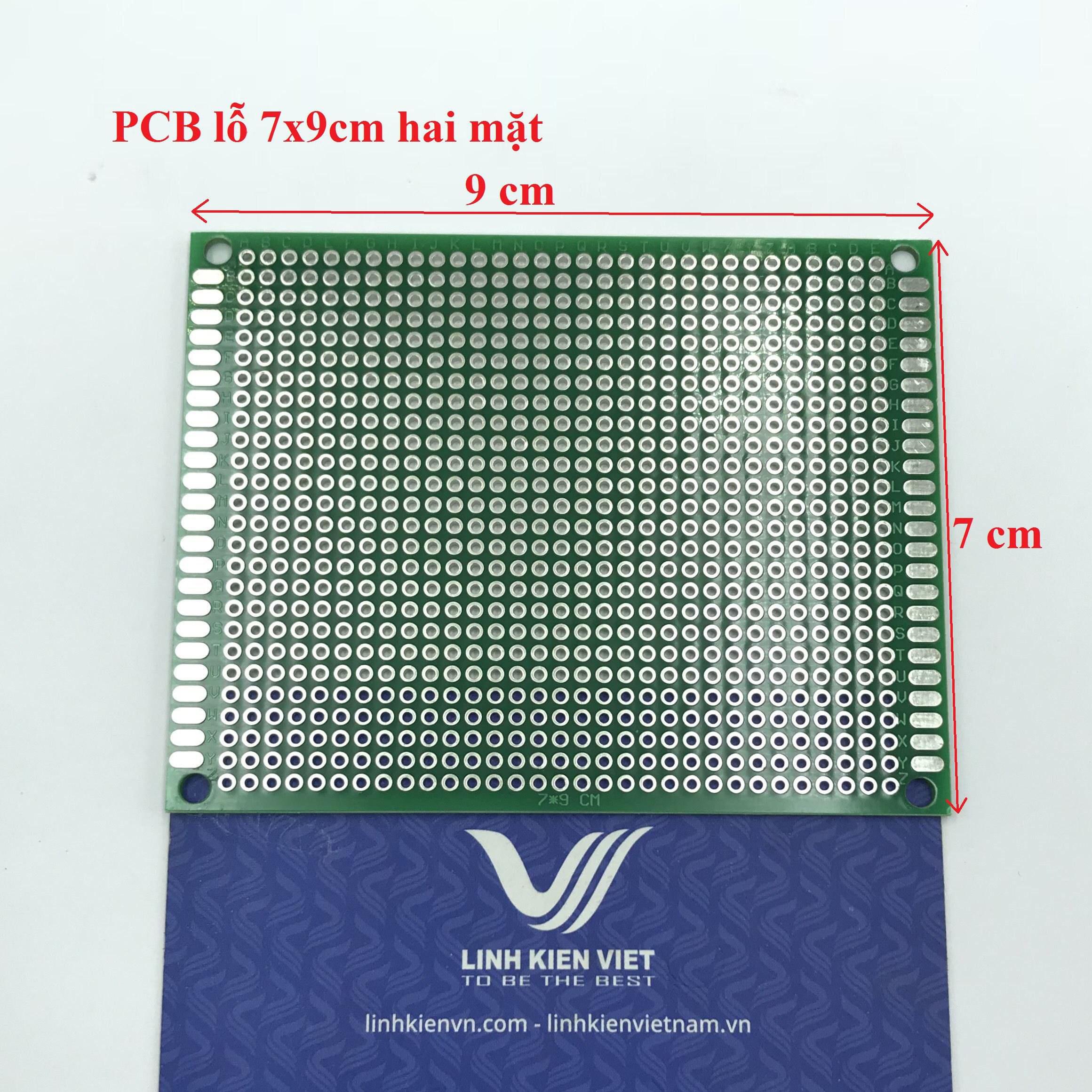 PCB lỗ 2 mặt 7x9cm - D8H23