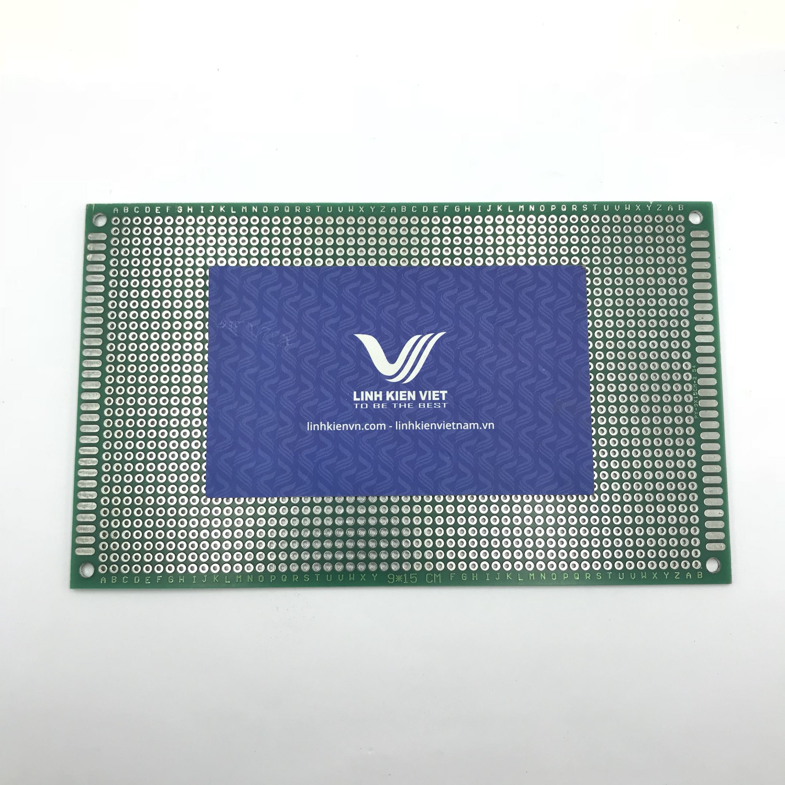 PCB lỗ 2 mặt 9x15cm -