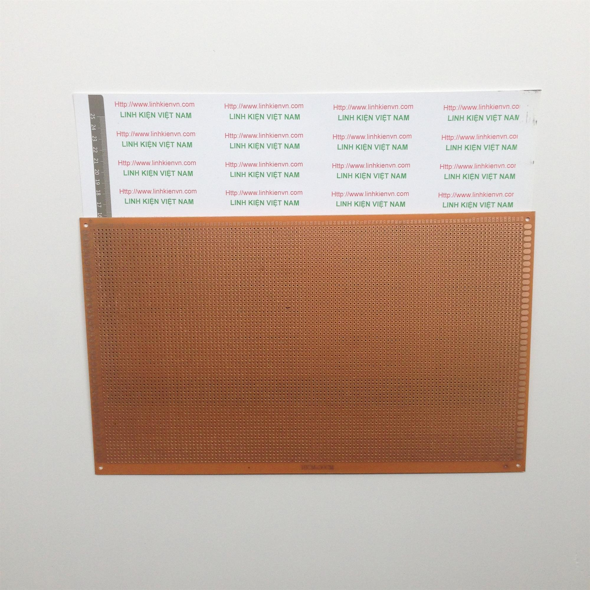 PCB 18x30cm / Phíp đục lỗ 18x30 cm - KHO C