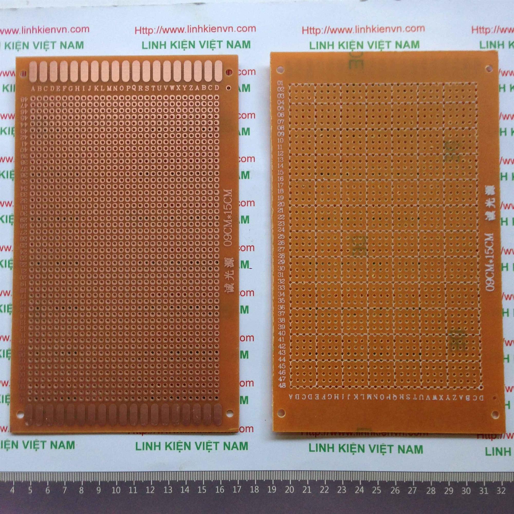 PCB 9x15cm - B9H14