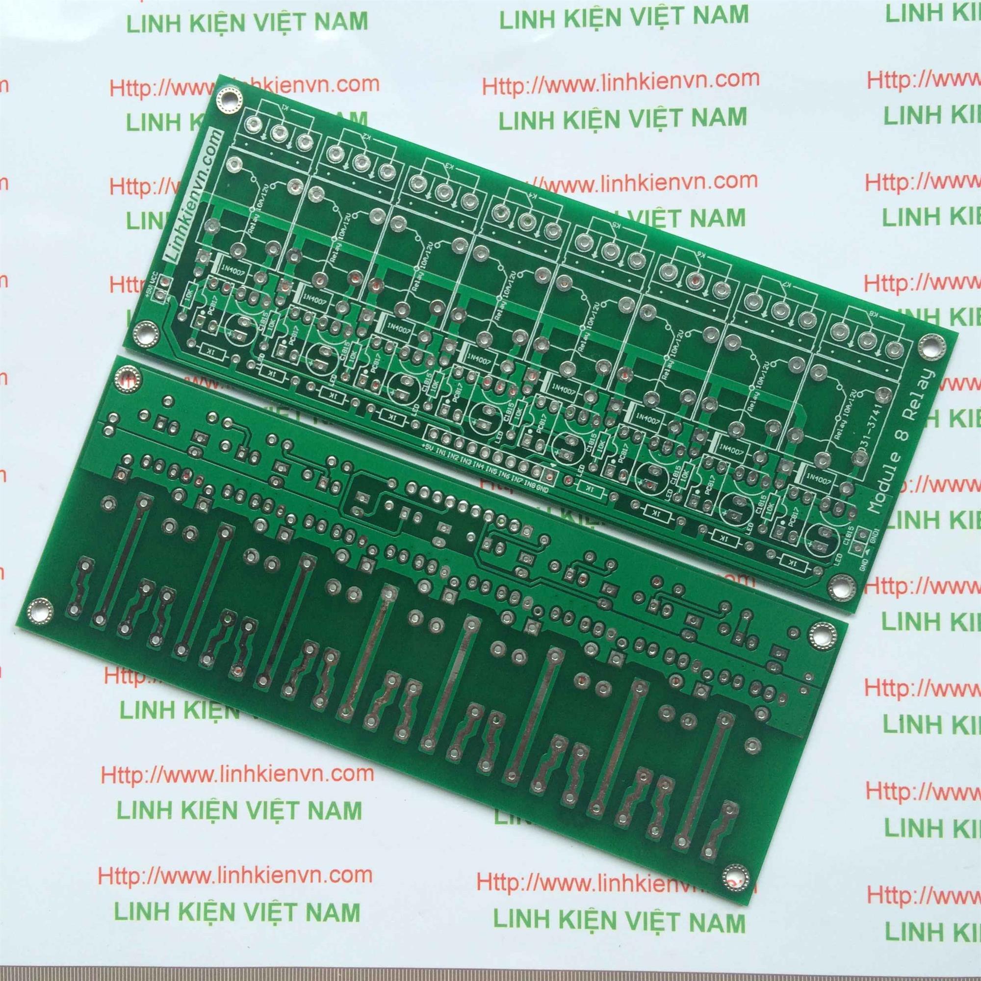 PCB Module Relay 8 Kênh - B1H17