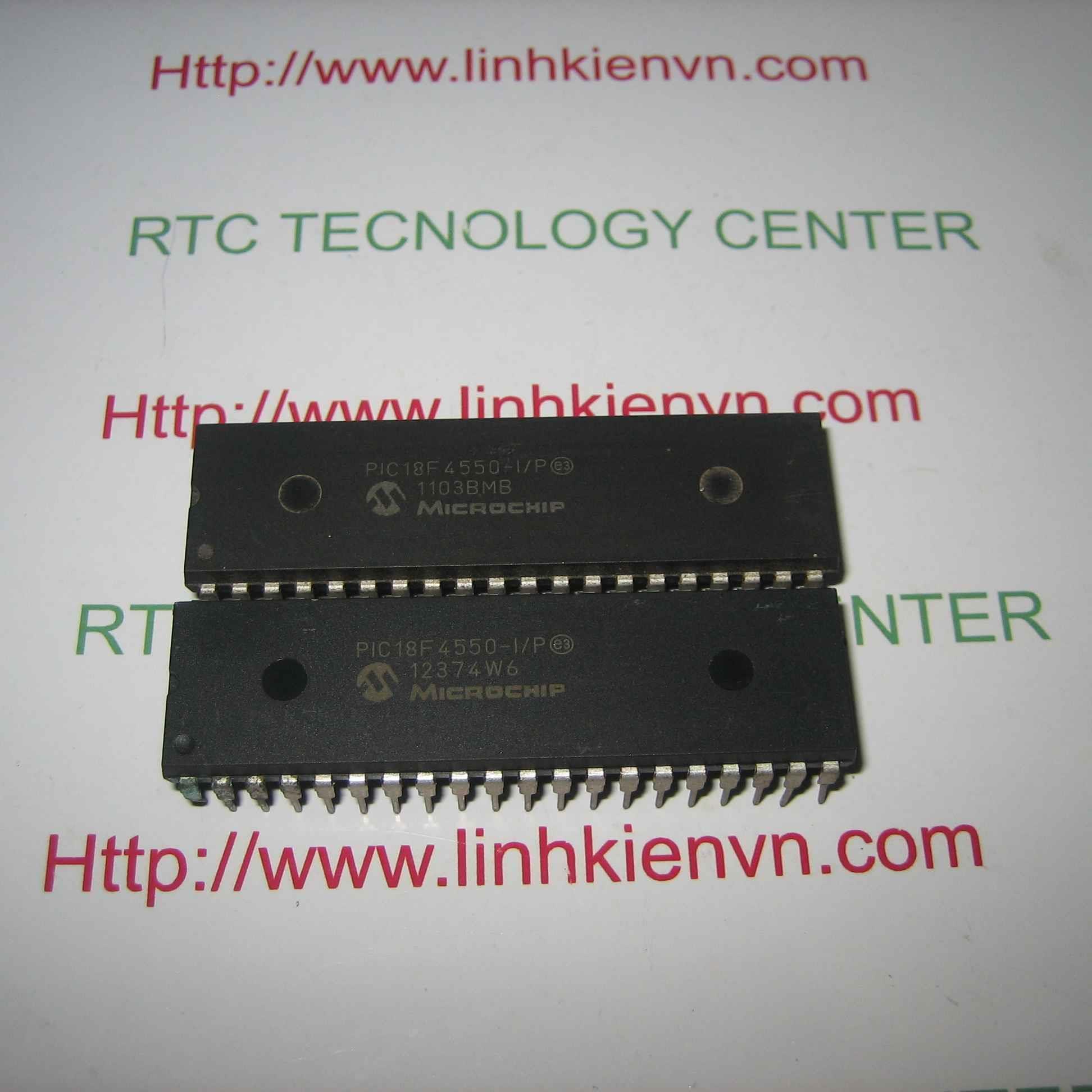 PIC18F4550 - F1H8