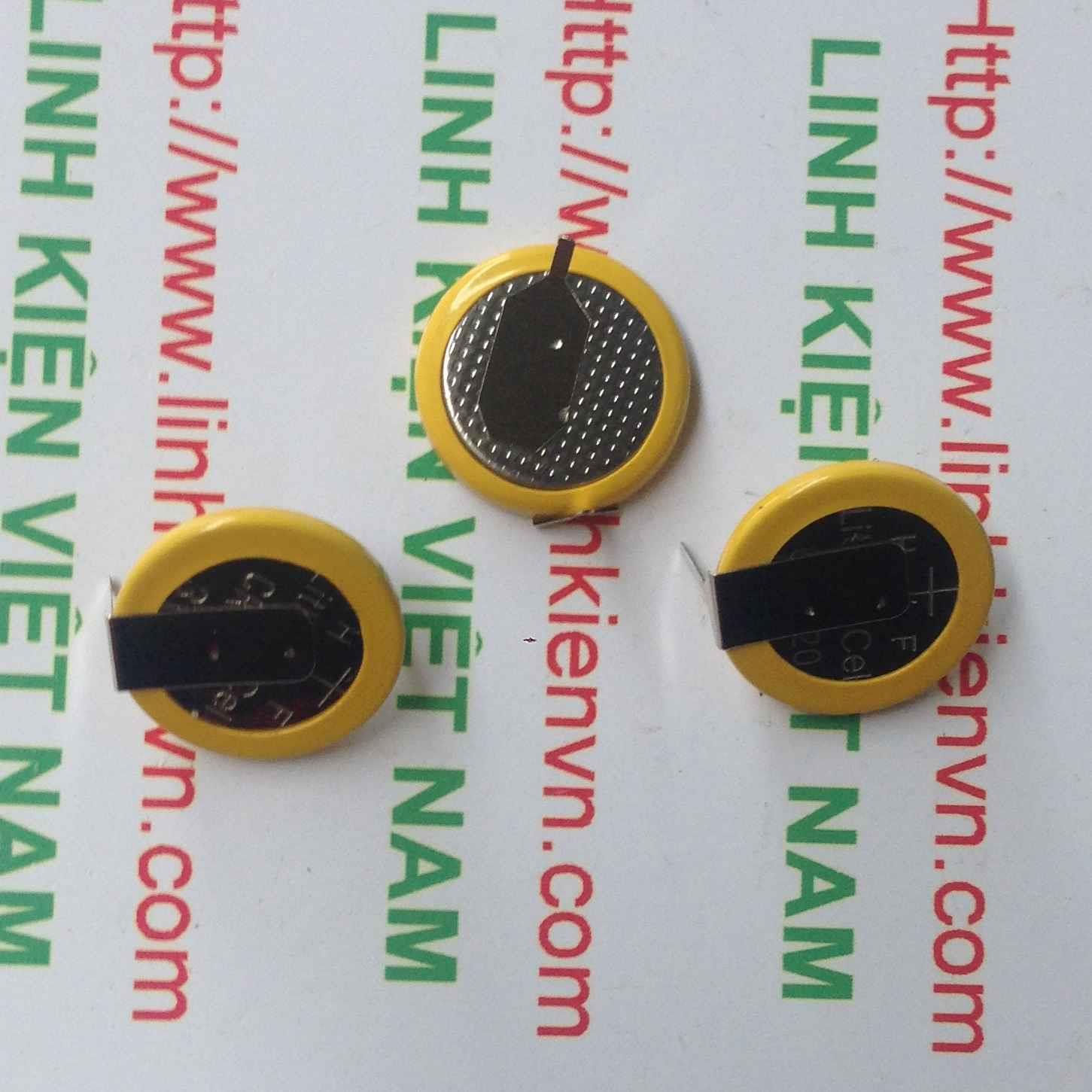 PIN VÀNG CR1220 2 CHÂN - A6H8