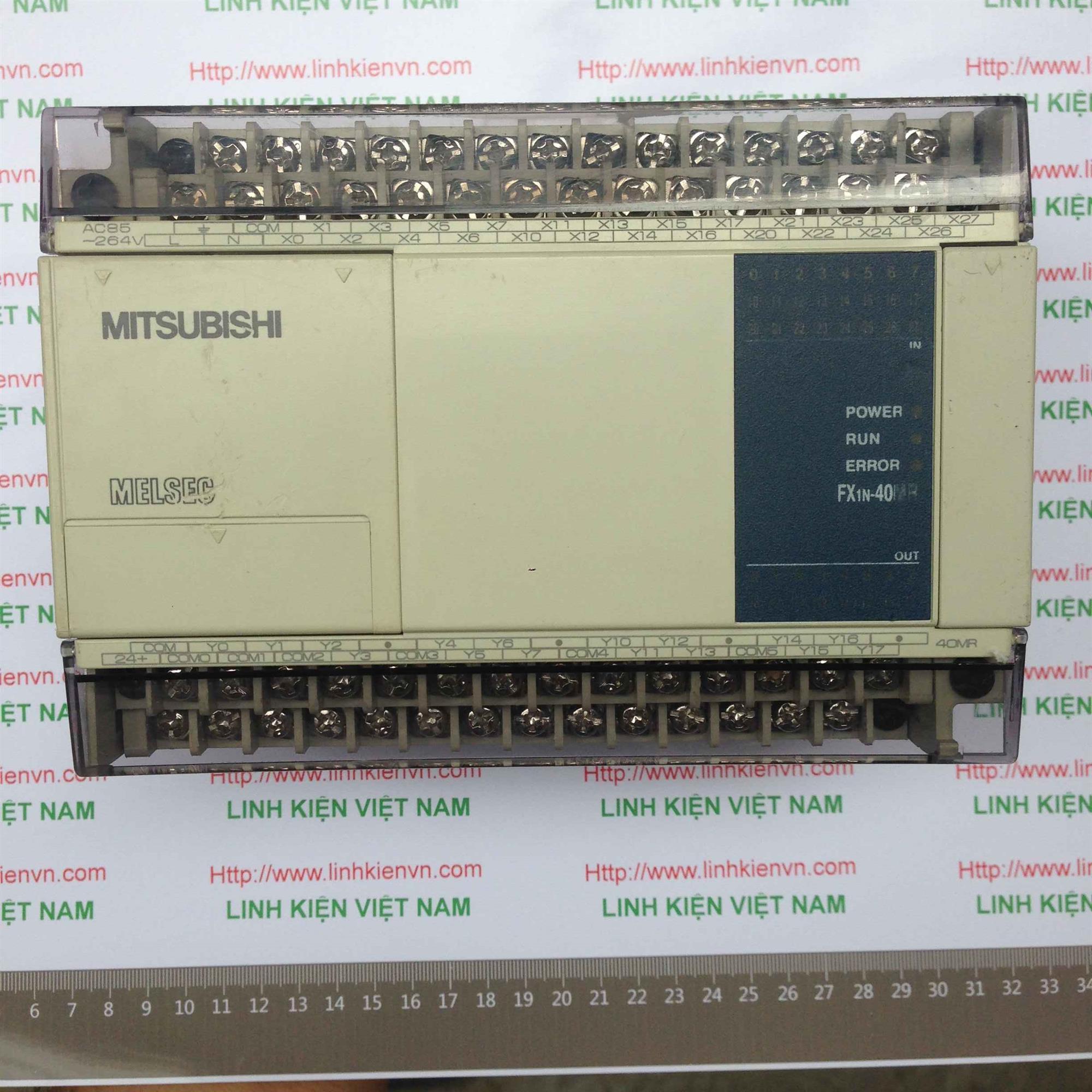 PLC FX1N-40MR-D FX1N40MR 24VDC - KHO B