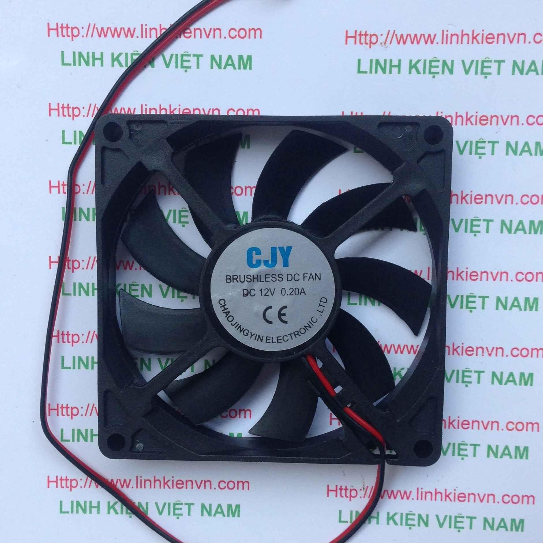 Quạt tản nhiệt 12V 6x6x1Cm / Quạt Fan 12V 6x6 Cm - G7H18