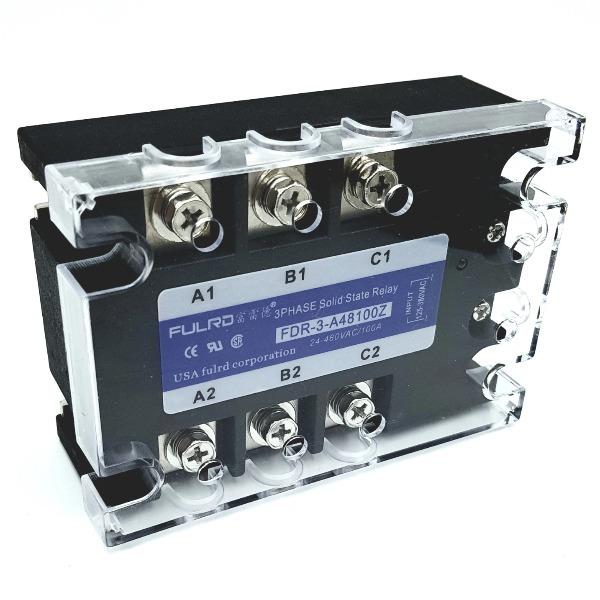 Relay bán dẫn 3 pha SSR 100A FDR3-A48100Z