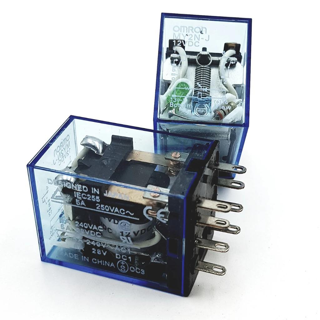 Relay trung gian MY2N-J -12VDC Chính Hãng Omron G8H15