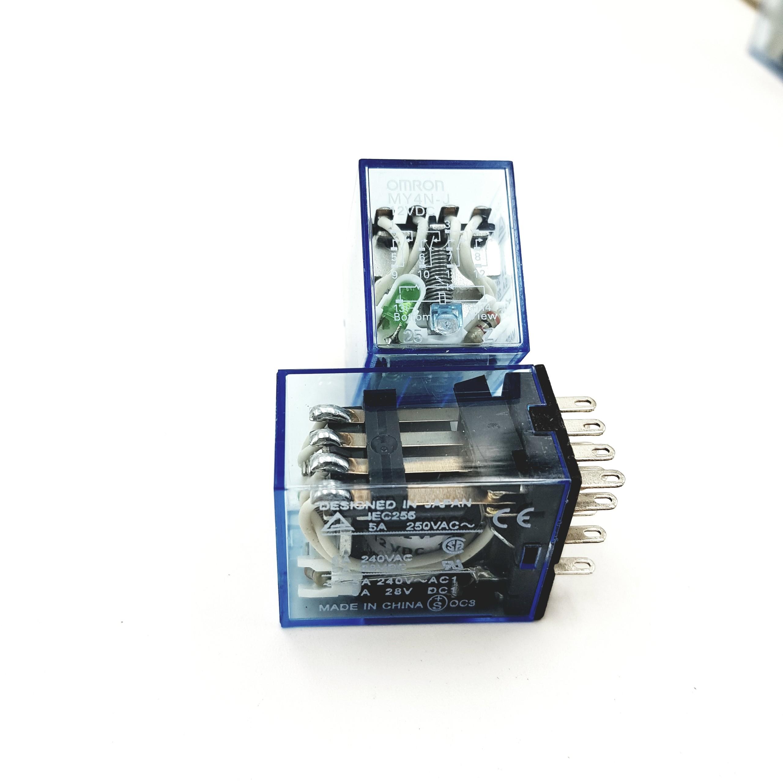 Relay trung gian MY4NJ -12VDC  Chính Hãng Omron G8H18
