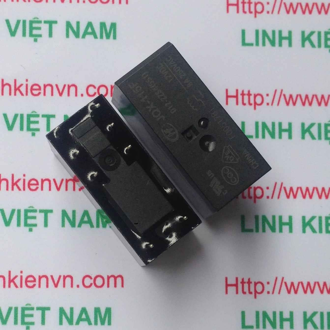 Relay 12V 8A-250VAC JQX-115F / Relay 8A 12V - G3H1(KB4H3)