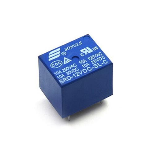 Relay 12V 10A 250V | SRD-12VDC-SL-C - A1H8(KB4H3)