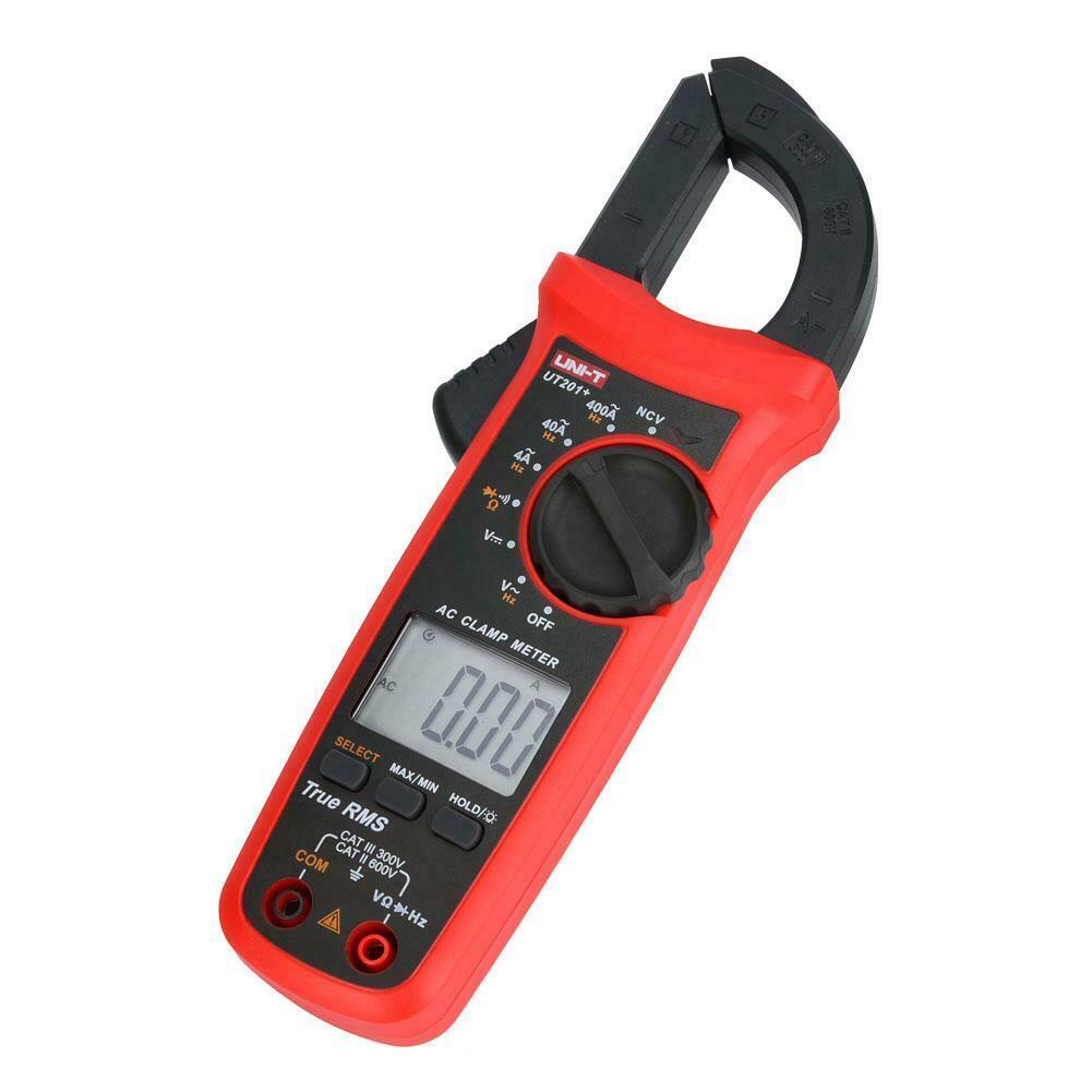Đồng hồ vạn năng Uni-T UT201+ - Ampe kìm / Kẹp dòng Uni-T UT201+ / Kìm kẹp dòng điện Uni-T UT201+