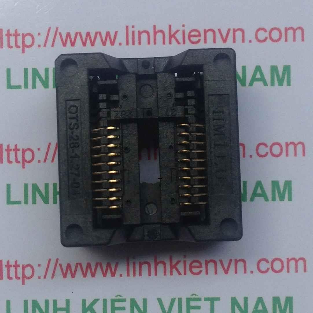 Socket SOP SSOP OTS-28-1.27-04 / Socket SOP SSOP OTS-20-1.27-04 - B4H9