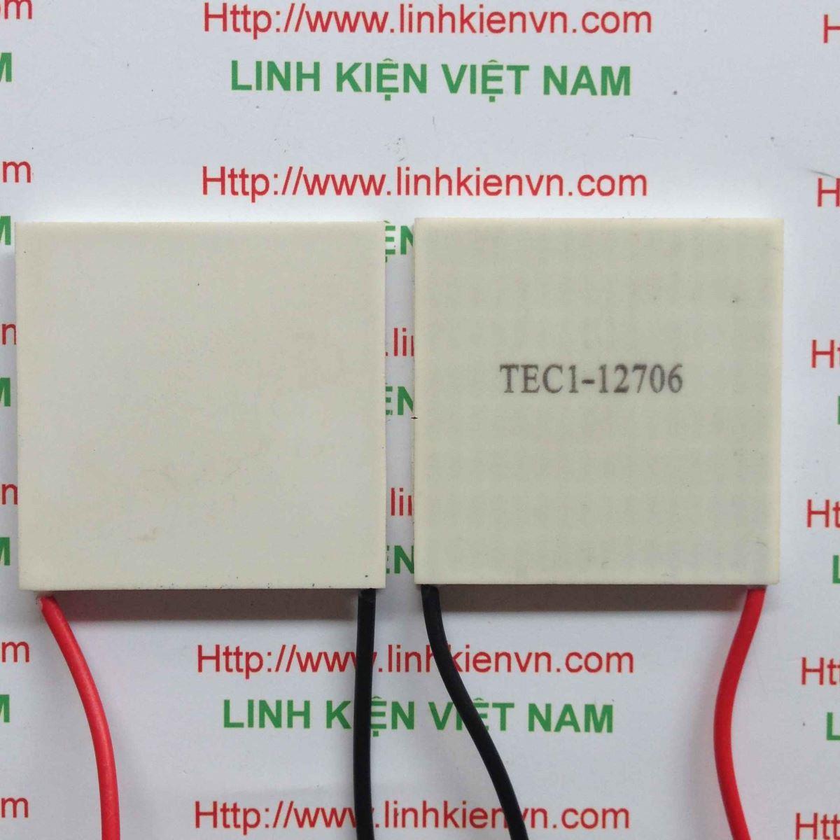 Sò nóng lạnh 60W TEC1-12706 TEC12706 / Sò lạnh TEC12706 (không trong chương trình khuyến mại) - B1H20