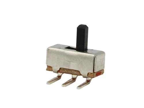 Công tắc gạt 3 chân ss-12D03(1P2T)/Công tắc gạt 3p 2.54mm Chân Cong - D3H3