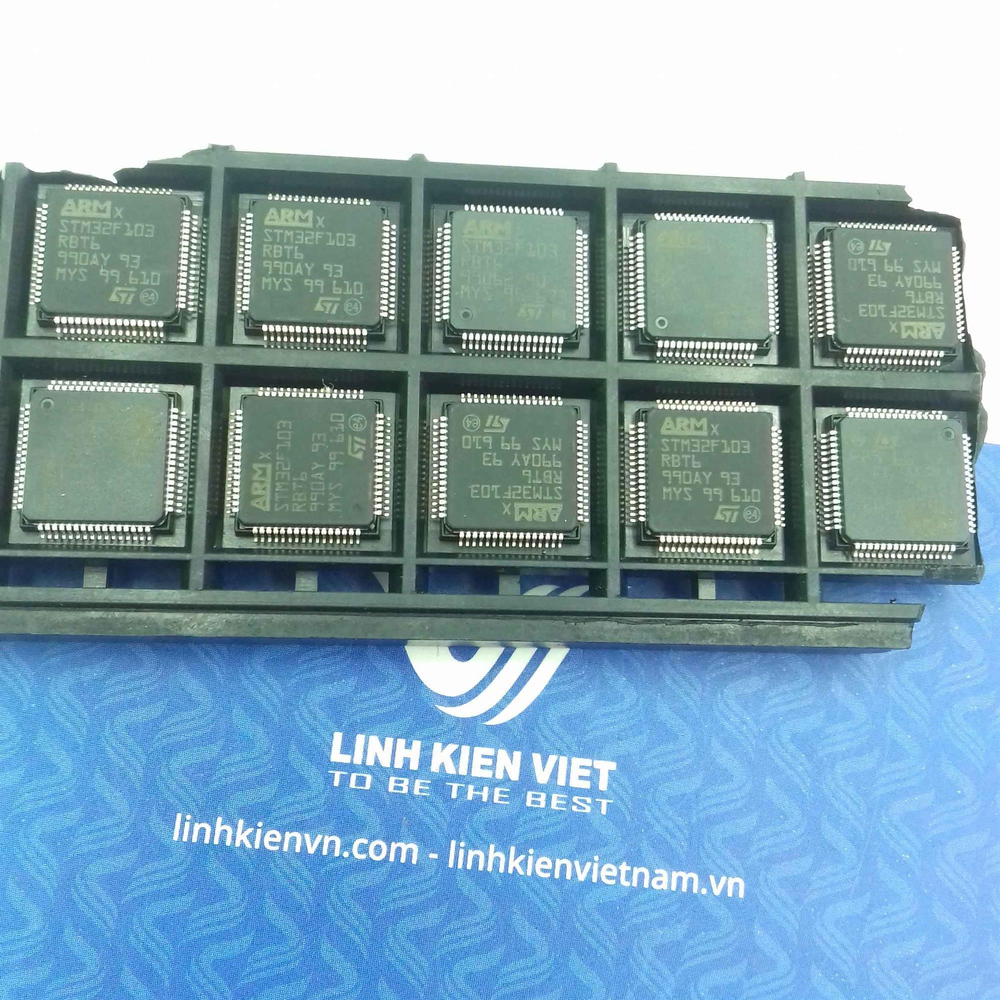 Vi điều khiển ARM 32 Bit STM32F103RBT6 LQFP64