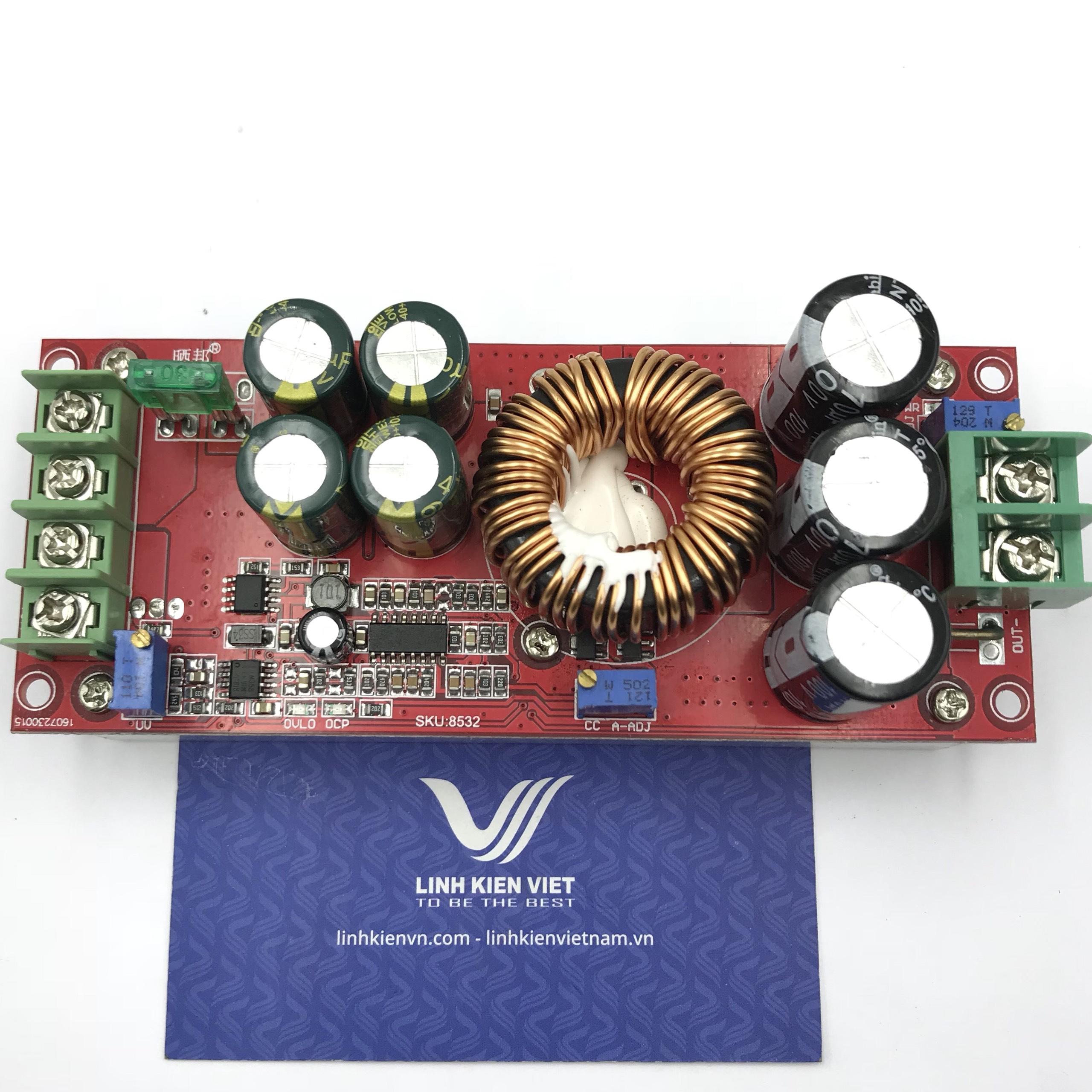 Module tăng áp DC DC 1200W 20A - X5H3