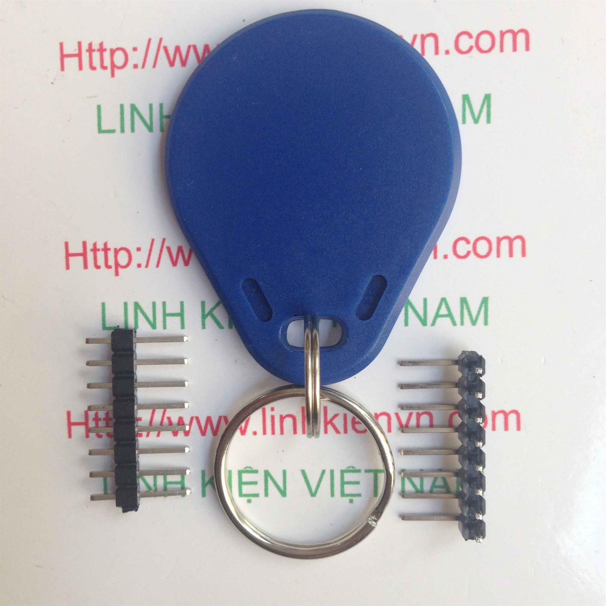 Thẻ RFID S50 13.56Mhz - Loại Móc Khóa - A1H22