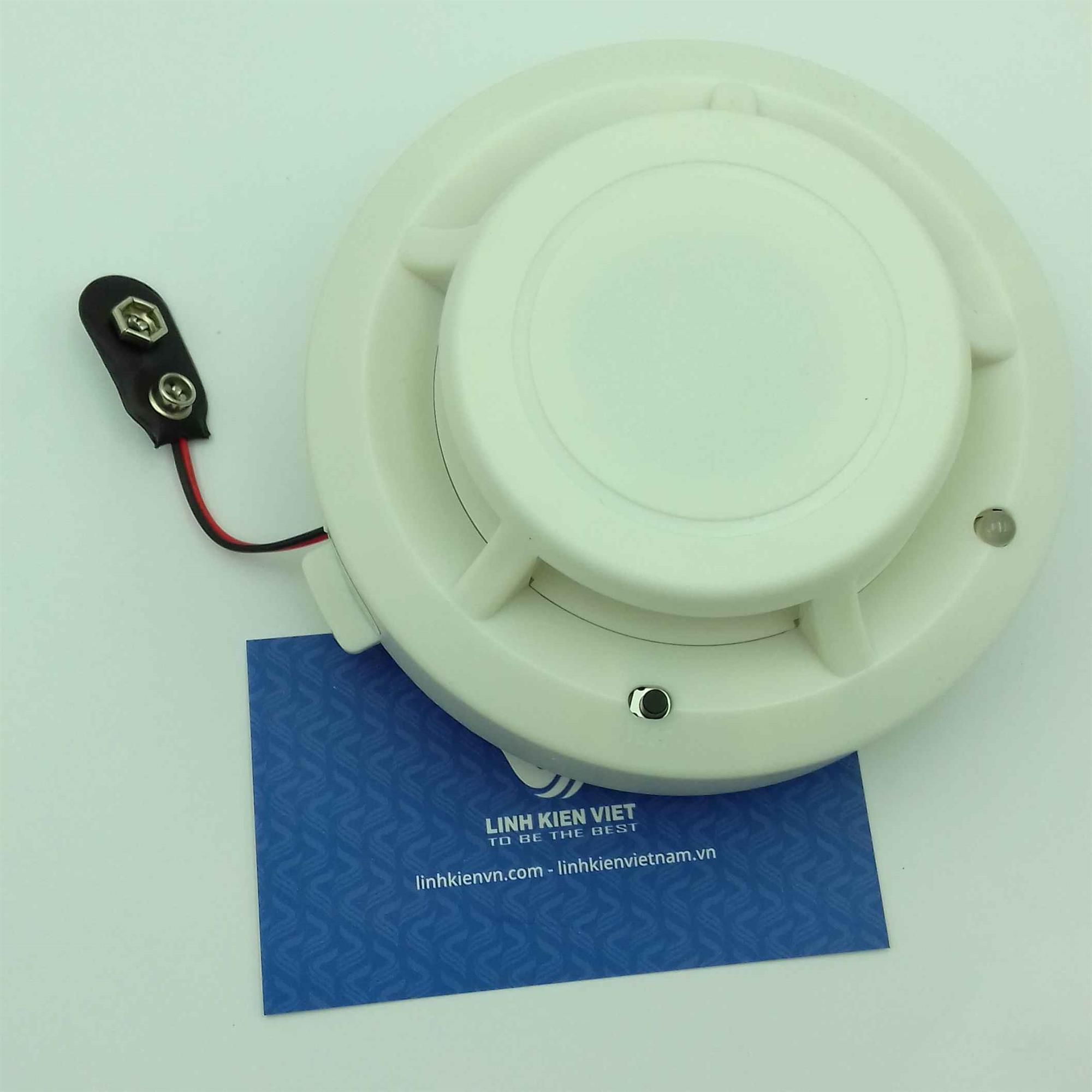 Thiết bị báo cháy, báo khói SA1201 9V không dây / Cảm biến khói