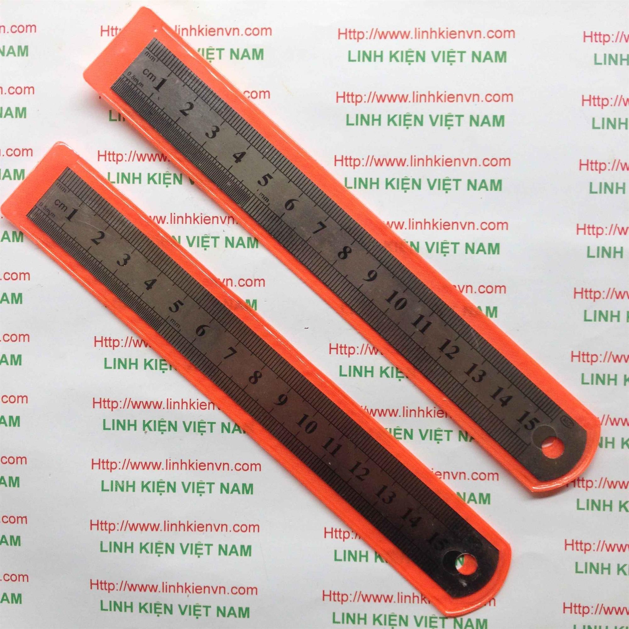 Thước inox 15cm - GIÁ