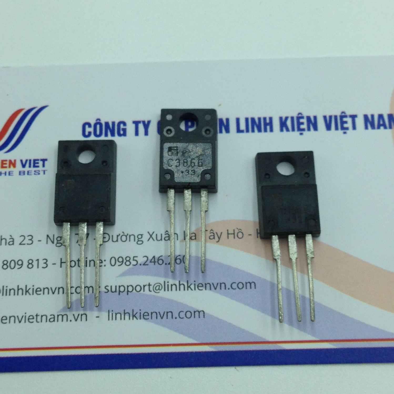 Transistor NPN 2SC3866 3A 800V / Transistor NPN 2SC3866 - i4H2