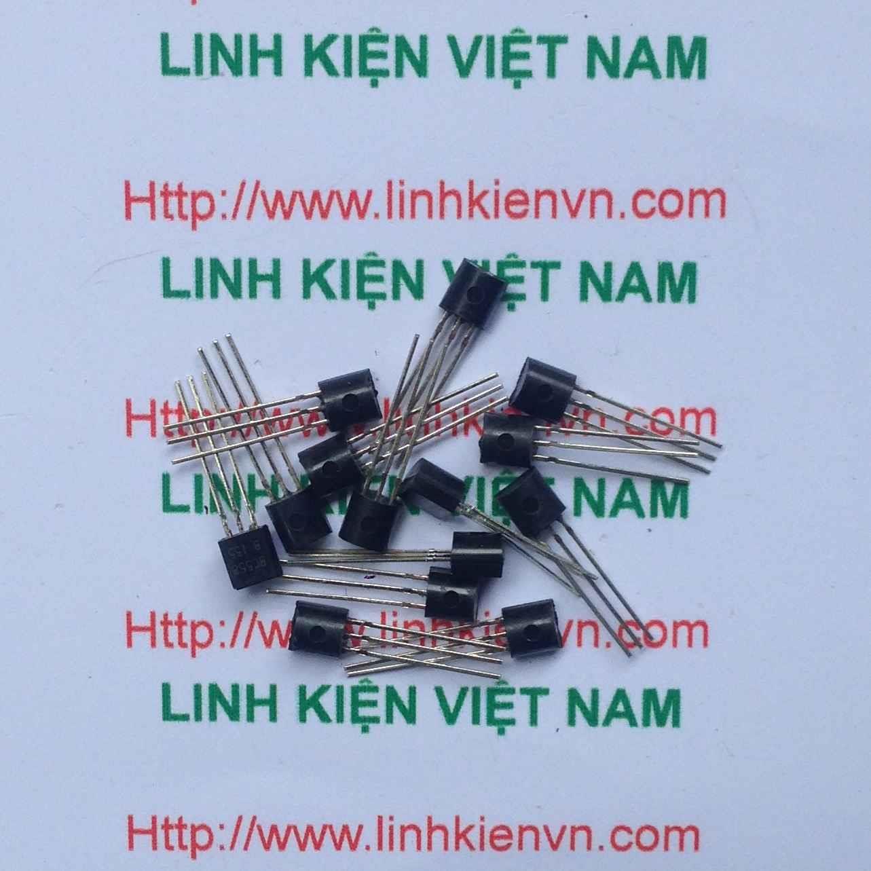 Transistor PNP BC558 100mA 30V / Transistor BC558 - B8H2